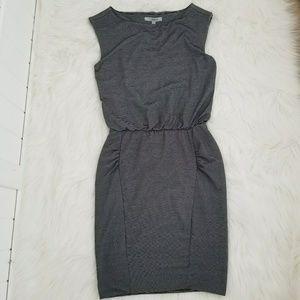 ATHLETA Women's Black White Bodycon Dress